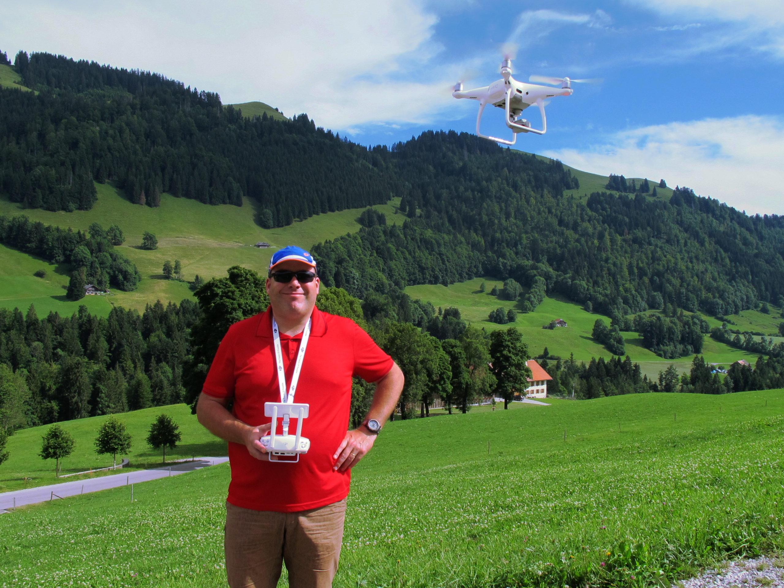 Prises de vues par drone