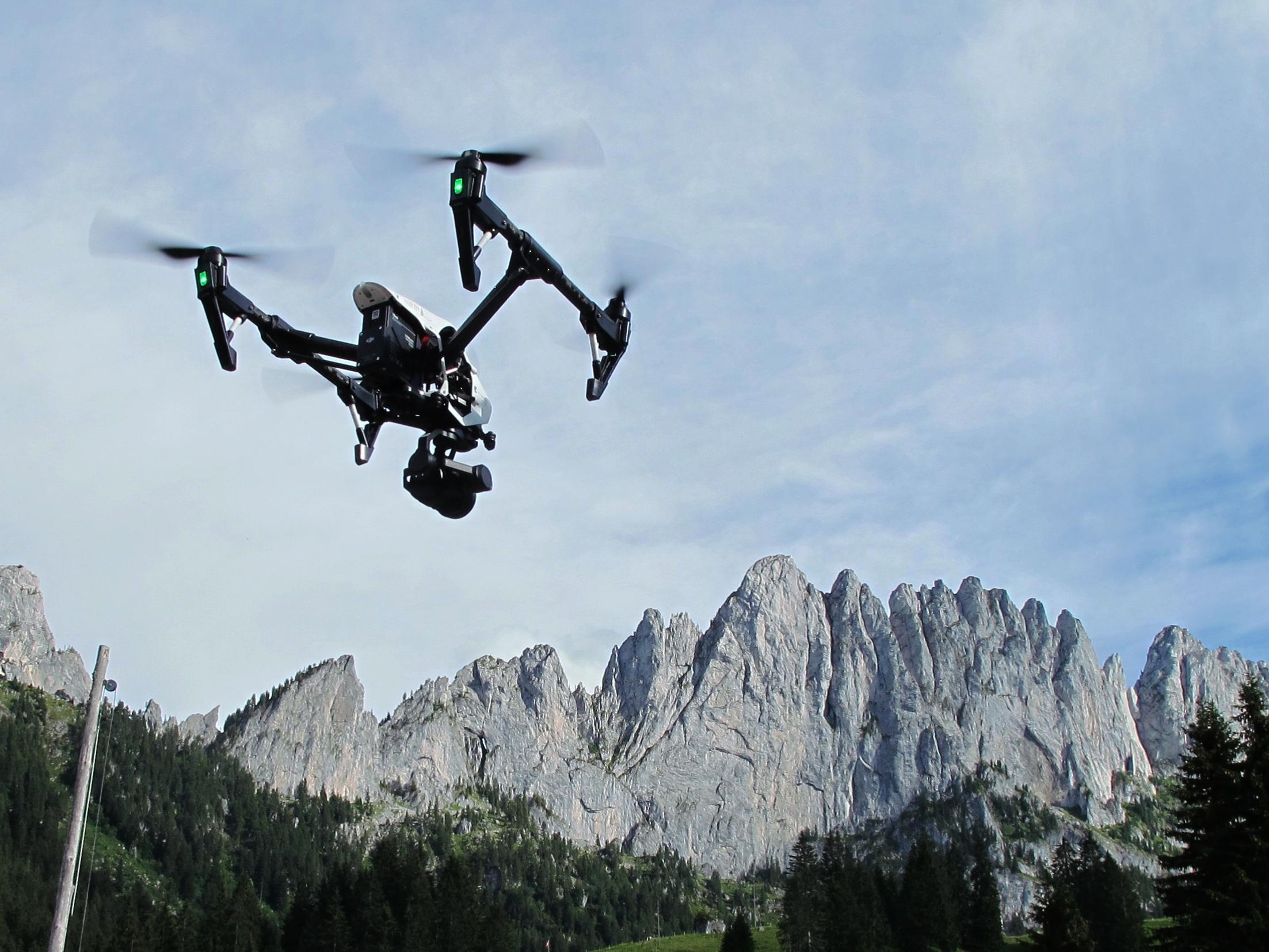 Drone DJI Inspire 1 qualité professionnelle
